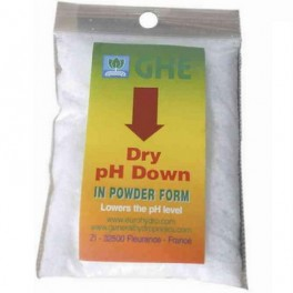 GHE (pH-) w proszku - regulator pH 25g