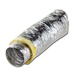 Przewód wentylacyjny miękki (izolowany) 125mm 10m